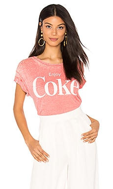 Enjoy Coke Tee in Washed Red