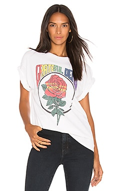 Купить Розовая футболка grateful dead - Junk Food, Футболки с рисунком, Гондурас, Белый