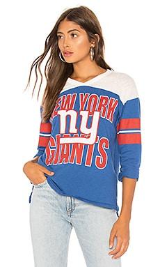 Фото - Футболку с рисунком nfl giants - Junk Food синего цвета