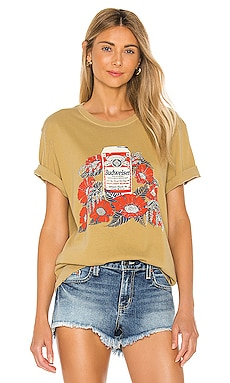 Budweiser Flowers Tee Junk Food $44