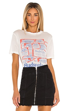 Budweiser Label Tee Junk Food $34