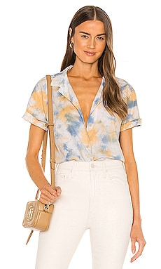 Ana Cropped Shirt Junk Food $58