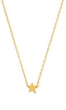 Jennifer Zeuner Lisandra Necklace in Yellow Vermeil