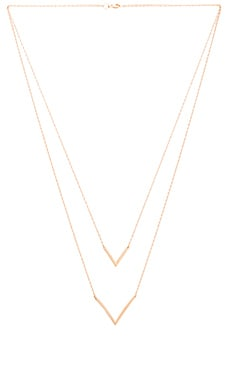 Jennifer Zeuner Tila Necklace in Yellow Vermeil