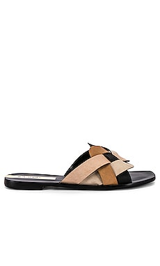 Gramado Multi Color Braided Slide Kaanas $63
