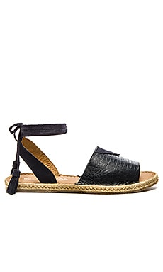 Grenada Sandal in Navy