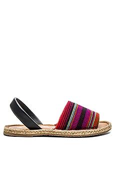 Kaanas Cancun Avarca Sandal in Violet