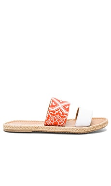 Belize Sandal in Orange