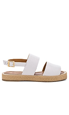 Kaanas Nice Sandal in White