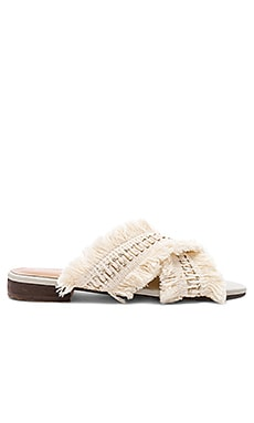 Ibiza Frayed Multi Slide Kaanas $119 BEST SELLER
