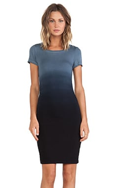 Venice Dress en Black Ombre