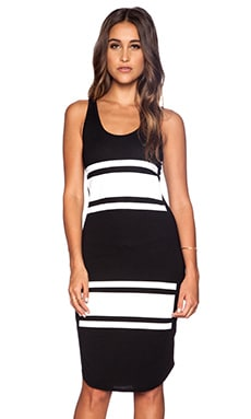 Kain Belle Dress in Black & White