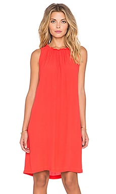Kain Owen Dress in Coral