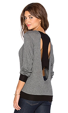 Kain Cate Sweater in Black & Charcoal