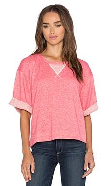 Kain Birdie Sweatshirt in Heathered Coral
