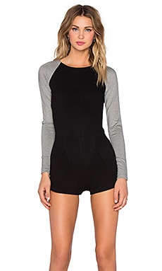 Kain Freda Romper in Black & Granite