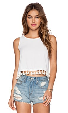 Sandy Tank in White