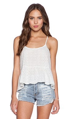 Kain Gidget Tank in White