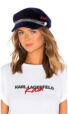 Velvet Cap KARL X KAIA $87