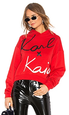Cropped Sweatshirt KARL X KAIA $103