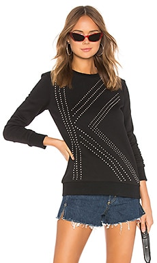 K Studded Sweater KARL X KAIA $90