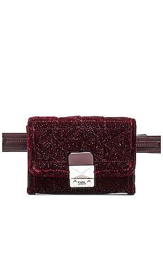 Velvet Bum Bag KARL X KAIA $225