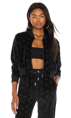x JUICY COUTURE Elasi Zip Up Kappa $150 BEST SELLER