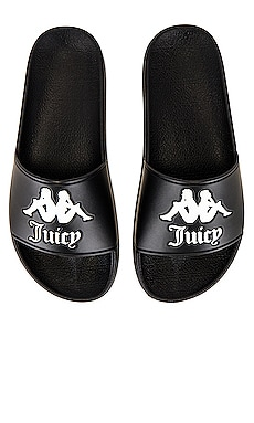 x JUICY COUTURE Authentic Adam Slides Kappa $40