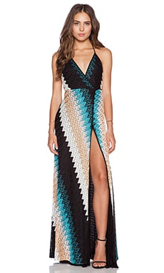 Karina Grimaldi Damian Maxi Dress in Montecarlo