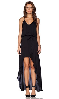 Karina Grimaldi Alma Maxi Dress in Black