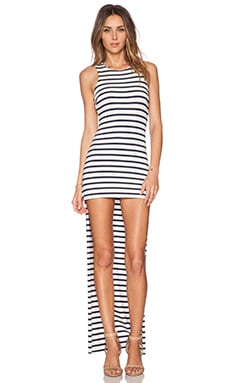 Karina Grimaldi Wilka Dress in Striped