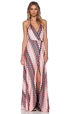 Karina Grimaldi Damian Maxi Dress in Mykonos
