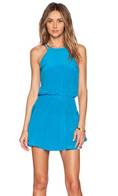 Karina Grimaldi Romina Dress in Turquoise