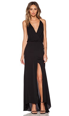 Noah Maxi Dress in Black