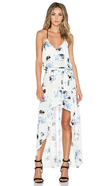 Karina Grimaldi Alma Maxi Dress in Flower