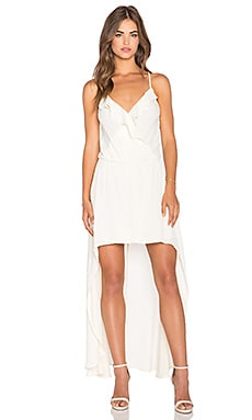 Karina Grimaldi Willie Maxi Dress in Ivory