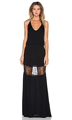 Karina Grimaldi Camila Maxi Dress in Black