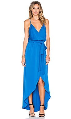 Karina Grimaldi Egypt Maxi Dress in Blue