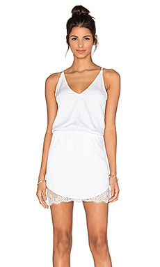 Juani Mini Dress in White