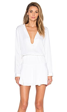 Karina Grimaldi Pilar Mini Dress in White