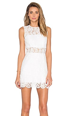Felicia Mini Dress in White