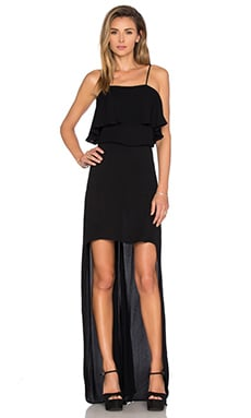 Karina Grimaldi Anne Maxi Dress in Black
