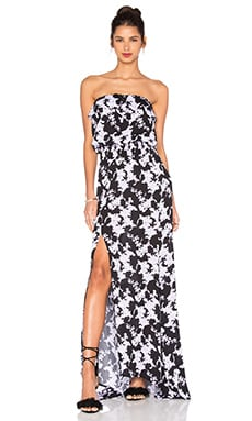 Jaffa Print Maxi Dress in Florencia