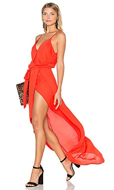 Karina Grimaldi Egypt Maxi Dress in Fuego