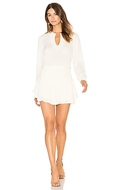 Jack Solid Mini Dress – Ivory