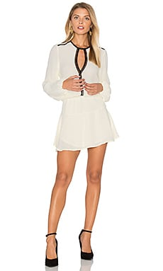 Titti Solid Mini Dress en Ivory