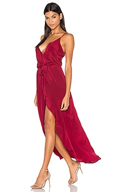 Egypt Maxi Dress in Burgundy