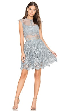 ROBE MINI EN DENTELLE MANHATTAN
