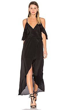 Rockefeller Solid Maxi in Black