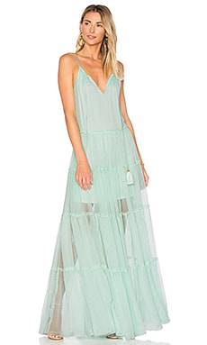 Chloe Maxi Dress in Mint